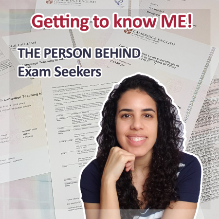 About Me - Patricia Moura   Exam Seekers