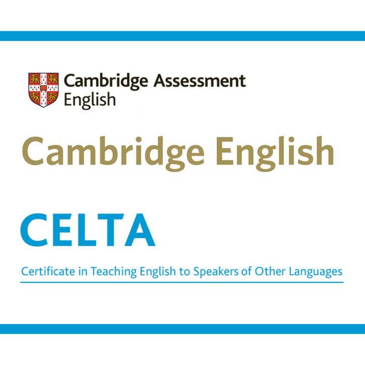 Cover for the Cambridge English CELTA course