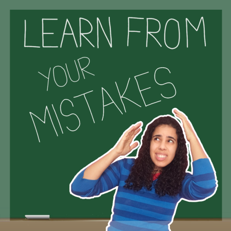 Learn From Your Mistakes Board Image