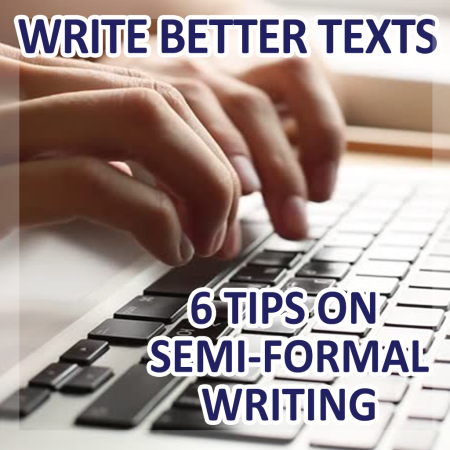 Notebook writing texts - Write better texts