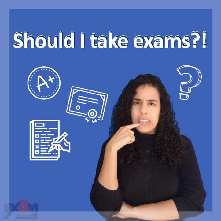 Cover for Should I take Exams, Certification