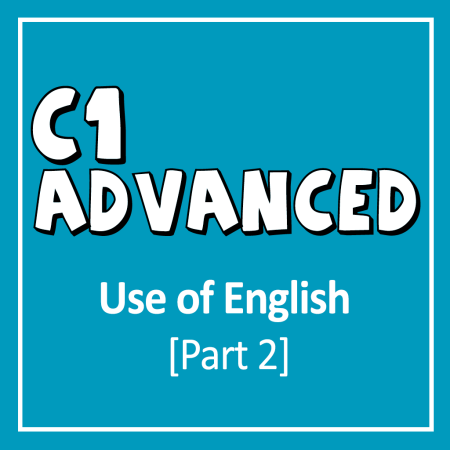 Cover for Cambridge English CAE - C1 Advanced Reading and Use of English Exam