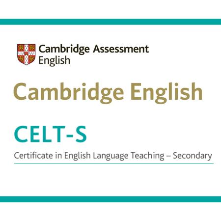 Cambridge CELT-S Certificate cover