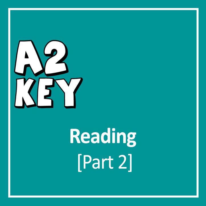 Cover for Cambridge English A2 Key (KET) Reading Exam
