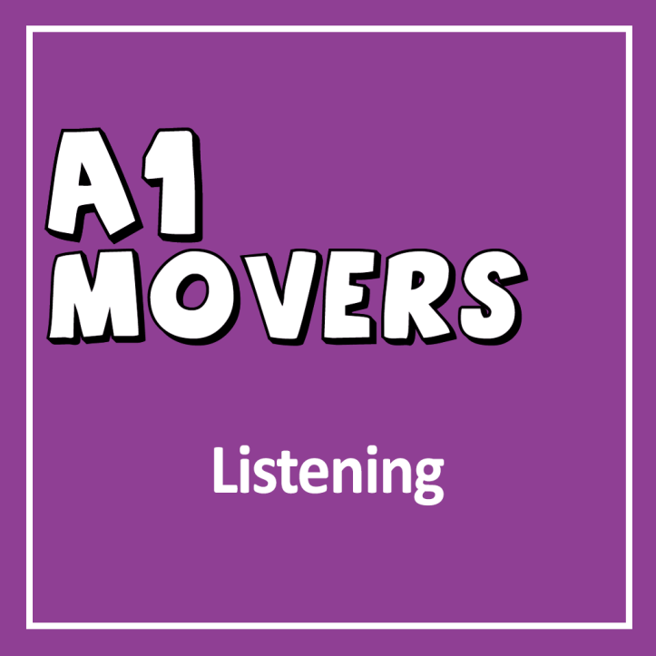 Cover for Cambridge English YLE A1 Movers Listening Exam