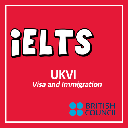 Cover for the IELTS UKVI from British Council