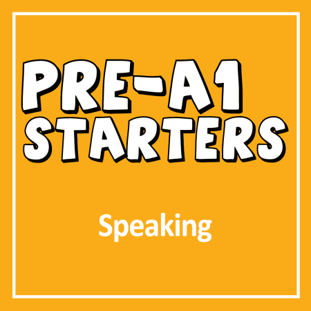 Cover for Cambridge English YLE Pre A1 Starters Speaking Exam