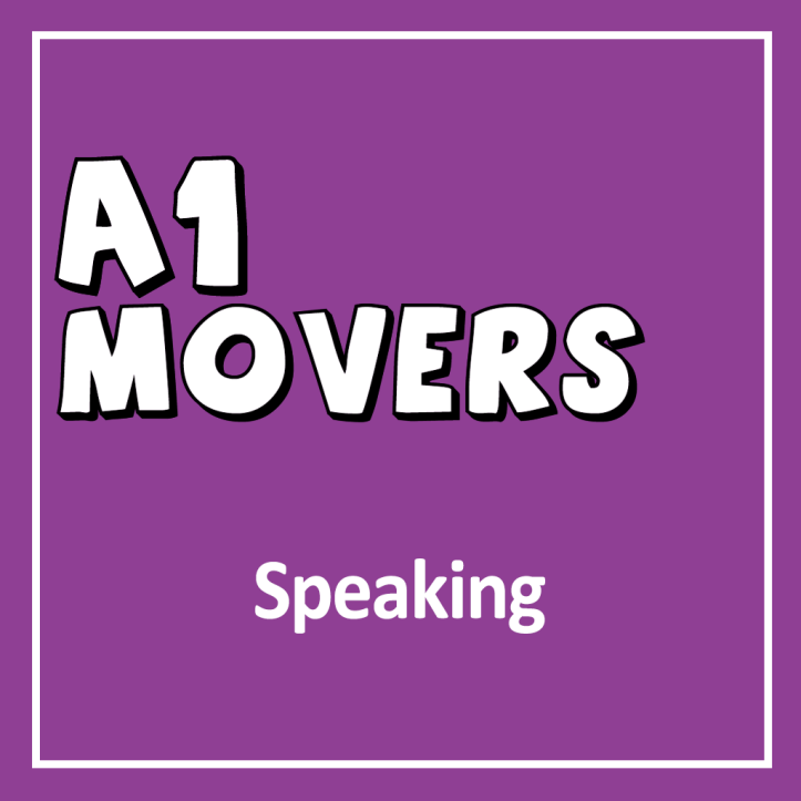 Cover for Cambridge English YLE A1 Movers Speaking Exam