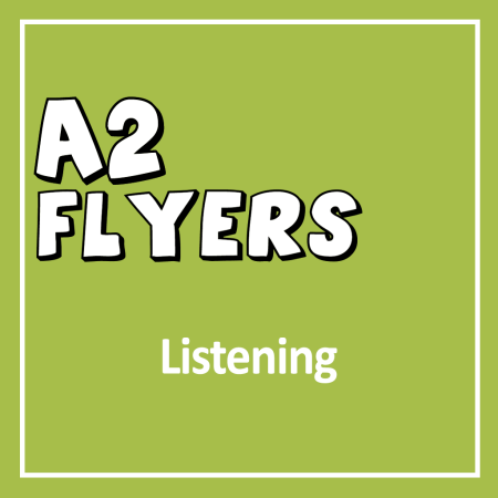 Cover for Cambridge English YLE A2 Movers Listening Exam