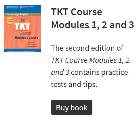 Cambridge English TKT Core Modules