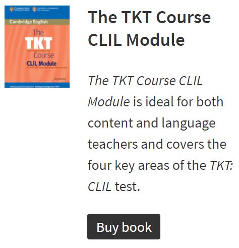 Cambridge English TKT CLIL